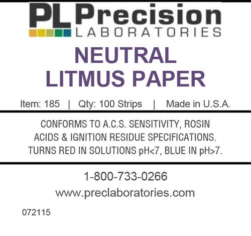 Neutral Litmus Test Paper