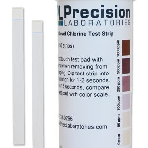 High Level Chlorine Test Strip, 1000ppm