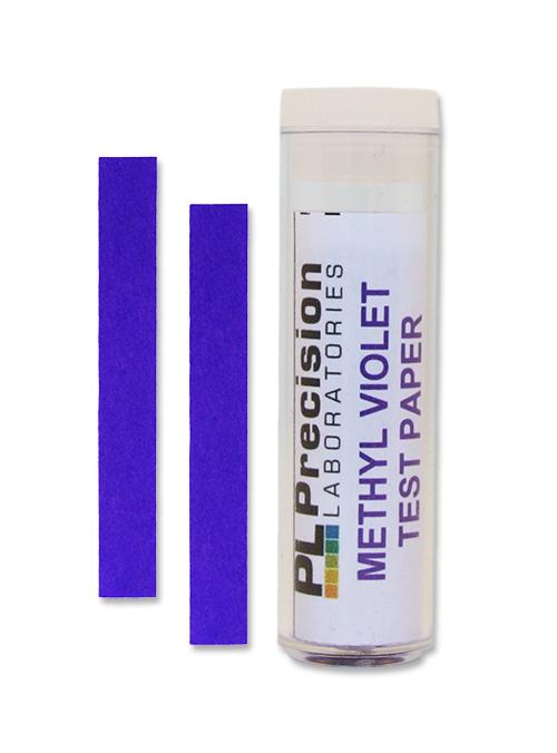 Methyl Violet Test Paper