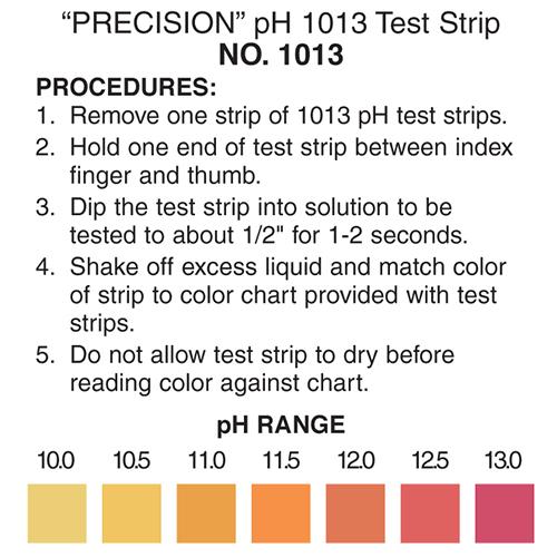 PH 10-13 Test Strip