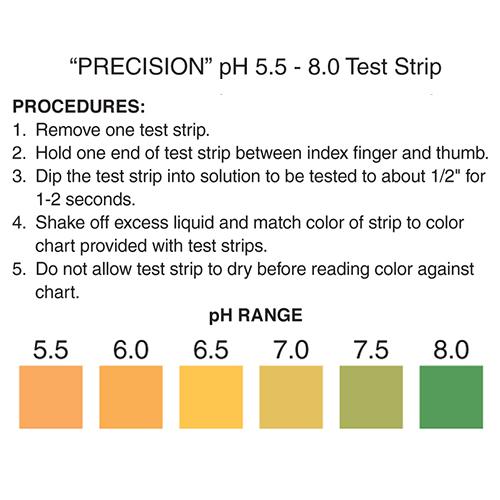 pH 5.5-8 Test Strip