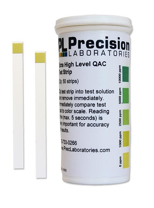 Extra High Level QAC Test Strip